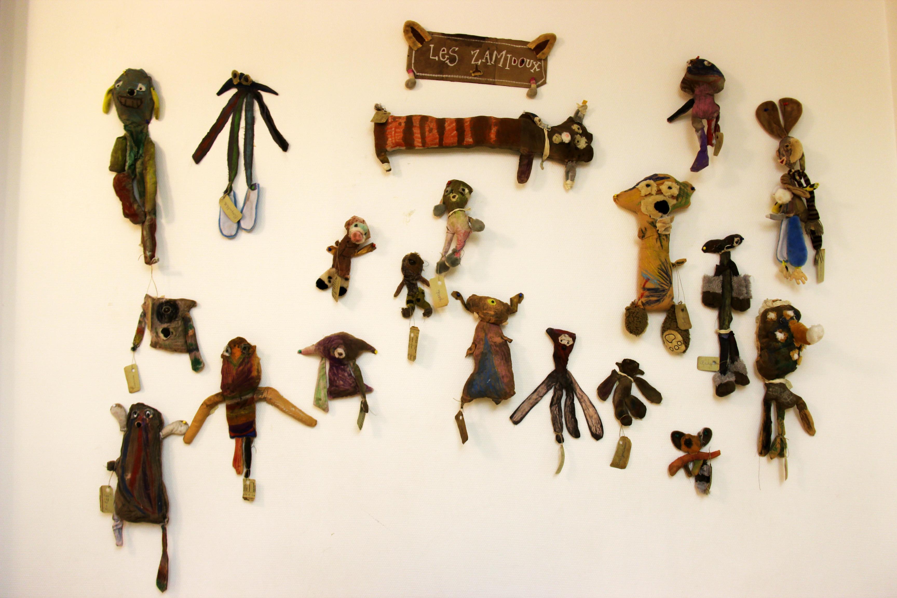 Les poupées doudous